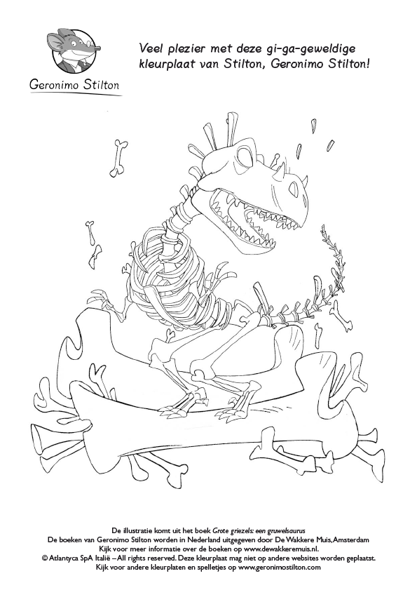 Geronimo Stilton Grote Griezels Een Gruwelsaurus De Wakkere Winkel