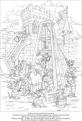 Kleurplaat Xl Geronimo Stilton Reis Door De Tijd De Wakkere Winkel
